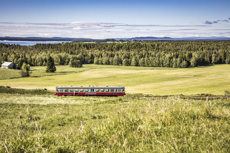 Travelling around Sweden by train   Visit Sweden