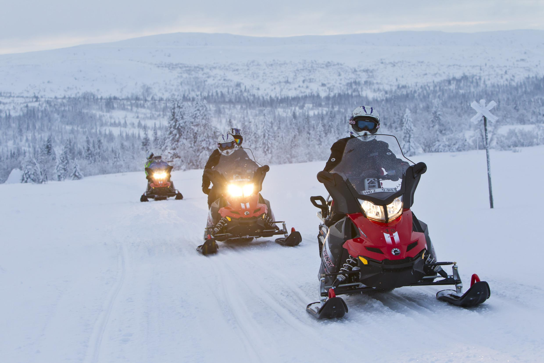 Snowmobile | Visit Sweden